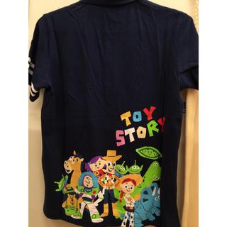 ディズニー(Disney)の新品 トイストーリー ポロシャツ 半袖 tシャツ バズ ウッディ エイリアン(ポロシャツ)