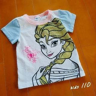ディズニー(Disney)の中古【kids】アナと雪の女王 エルサ/半袖 Tシャツ 110(Tシャツ/カットソー)
