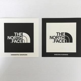 ザノースフェイス(THE NORTH FACE)の【非売品】【正規品】THE NORTH FACE ロゴステッカー 2枚セット(その他)