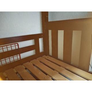 二段ベッド木製 大人もOKサイズ(すのこベッド)