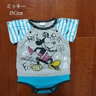 ディズニー(Disney)のディズニー ミッキーTシャツ 80㎝(Tシャツ)