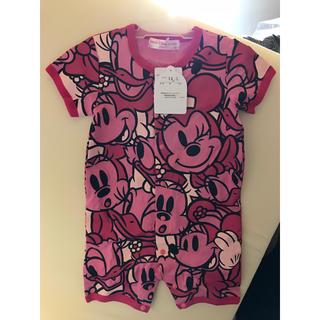 Disney - ディズニー ロンパース 80サイズ