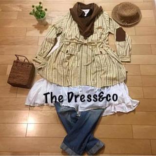 ザドレスアンドコーヒデアキサカグチ(The Dress & Co. HIDEAKI SAKAGUCHI)のThe Dress&co★チュニックシャツワンピース(チュニック)