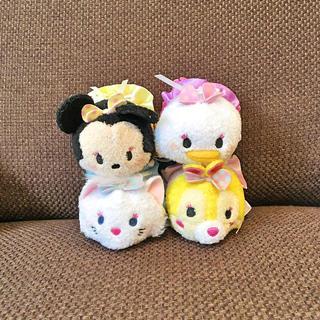 ディズニー(Disney)のルクア 大阪 ミニー デイジー マリー ミスバニー ツムツム セット(ぬいぐるみ)