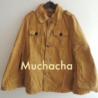 アチャチュムムチャチャ(AHCAHCUM.muchacha)のAHCAHCUM.muchacha ☆ポンチョジャケット (ポンチョ)
