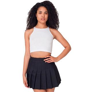 アメリカンアパレル(American Apparel)のテニススカート黒(ミニスカート)