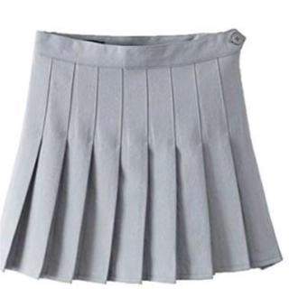 アメリカンアパレル(American Apparel)のアメアパ テニススカートグレー(ミニスカート)