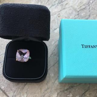 ティファニー(Tiffany & Co.)の【お値下げ】【極美品】ティファニー スパークラーアメジスト カクテルリング(リング(指輪))
