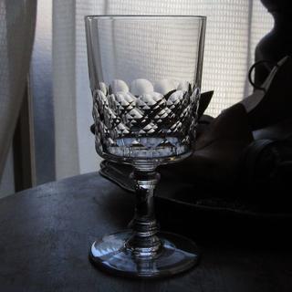 バカラ(Baccarat)のアンティークバカラ 1936年以前作品「Ecaille」(グラス/カップ)