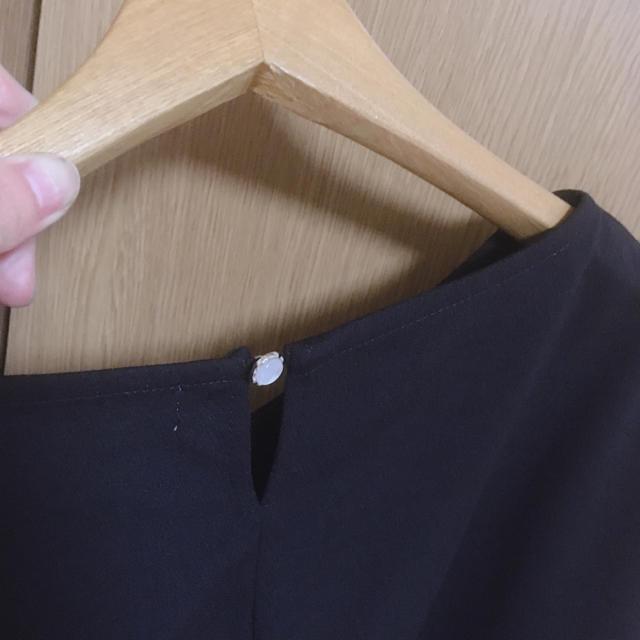 しまむら(シマムラ)のフリル袖 カットソー レディースのトップス(カットソー(半袖/袖なし))の商品写真