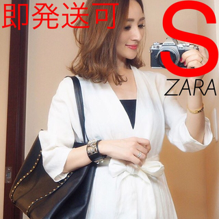 ZARA - ZARA リネン ワンピース