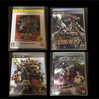 プレイステーション3(PlayStation3)のPS3 ソフト 4枚セット スパロボ ガンダム 戦国BASARA(家庭用ゲームソフト)
