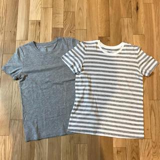 ムジルシリョウヒン(MUJI (無印良品))の無印良品 Tシャツ 2枚セット M(Tシャツ(半袖/袖なし))