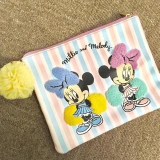 ディズニー(Disney)のミニーの姪っ子 ミリー&メロディ ポーチ(ポーチ)