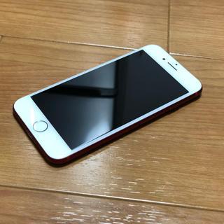 アップル(Apple)の【超美品】【希少品】iPhone7 128GB レッド 最終値下げ!!!(スマートフォン本体)