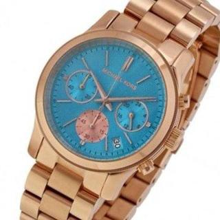 マイケルコース(Michael Kors)の《レアカラー》マイケルコース レディースウォッチ スカイブルー(腕時計)