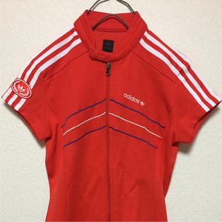 adidas - 90s adidas アディダス 希少 ジャージ ドレス ワンピース 38