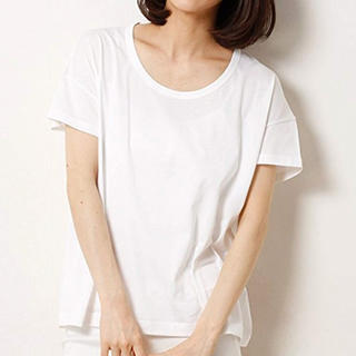 サンスペル(SUNSPEL)のサンスペル ドルマン Tシャツ 白(Tシャツ(半袖/袖なし))