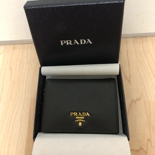PRADA - プラダ 定番 二つ折り財布