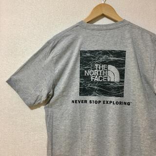 ザノースフェイス(THE NORTH FACE)の新品 ザ ノースフェイス 海外企画 半袖Tシャツ バックプリントグレーM(Tシャツ/カットソー(半袖/袖なし))