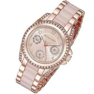 マイケルコース(Michael Kors)の✭新品 格安‼✭マイケルコース レディース 腕時計 ピンク MK6175(腕時計)