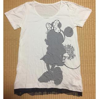 ミニマム(MINIMUM)の【新品】minimum minimum  ミニーTシャツ(Tシャツ(半袖/袖なし))