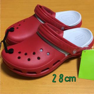 クロックス(crocs)の新品 28㎝ クロックス モディ スポーツ クロッグ  ペッパー(サンダル)