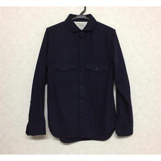 カトー(KATO`)のKATO BASIC カトー AAA C.P.Oシャツ ウール S(シャツ)