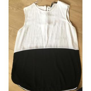 ZARA - ザラ woman バイカラーシャツ xs