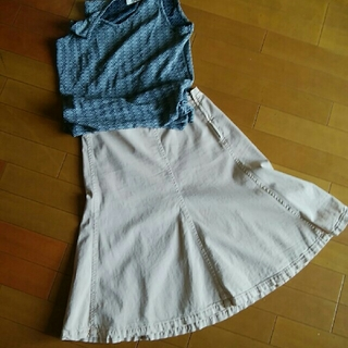 プラダ(PRADA)の5枚ハギスカート 訳あり(ひざ丈スカート)