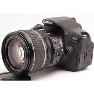 キヤノン(Canon)の高画質⭐️自撮りもできる⭐️Kiss X6i レンズキット⭐️ダブルバッテリー(デジタル一眼)