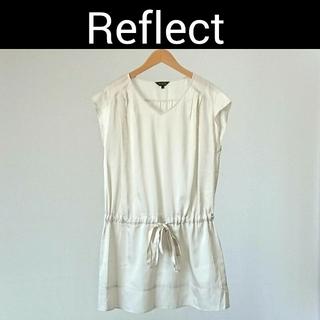 リフレクト(ReFLEcT)のReflect リフレクト ワンピース アイボリー レディース 夏物(ミニワンピース)