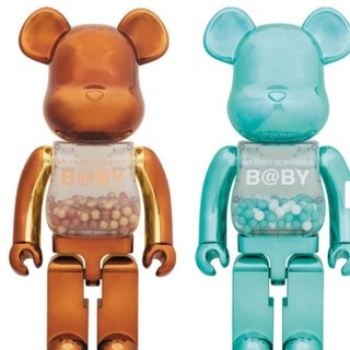 MEDICOM TOY - MY FIRST BE@RBRICK B@BY100.400合計4点ベアブリック