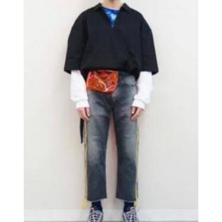 ジエダ(Jieda)のjieda ハーフジップポロシャツ(ポロシャツ)