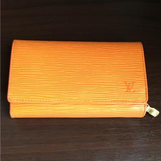 LOUIS VUITTON - [美品] ルイヴィトン 2つ折り財布 オレンジ マンダリン