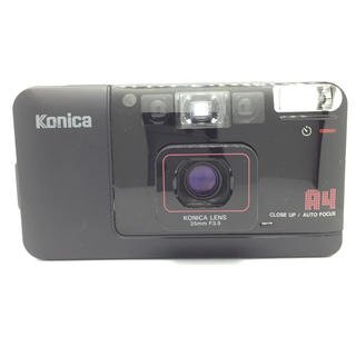 コニカミノルタ(KONICA MINOLTA)のkonica bigmini a4 フィルムカメラ コンパクト(フィルムカメラ)