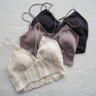 TODAYFUL - Cup-in Satin Camisole/TODAYFUL