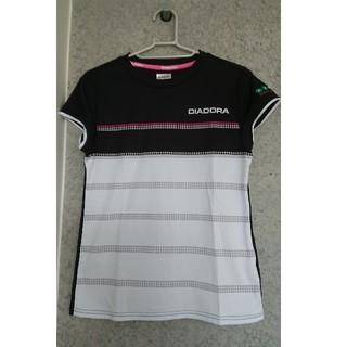 ディアドラ(DIADORA)のディアドラ レディーステニスシャツ(ウェア)