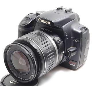 キヤノン(Canon)の❤️初心者入門機❤️ Canon Kiss x レンズキット♫(デジタル一眼)
