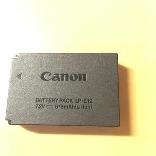 キヤノン(Canon)のキヤノン eos  m 充電池 純正 中古(ミラーレス一眼)