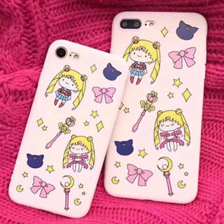 iPhone7or8ケース セーラームーン ♡ピンク*ゆめかわいいミニうさぎ♡