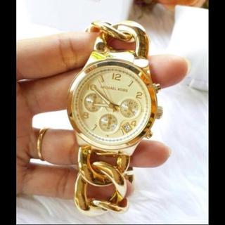 マイケルコース(Michael Kors)のマイケルコース チェーン型 腕時計(腕時計)