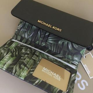 マイケルコース(Michael Kors)の新品マイケルコース 🌺トロピカル柄 収納力 長財布(財布)