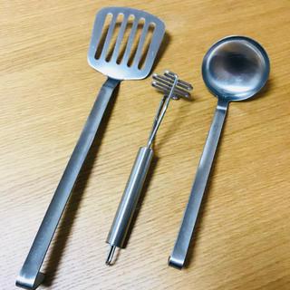 ムジルシリョウヒン(MUJI (無印良品))の無印良品 調理器具3点セット(調理道具/製菓道具)
