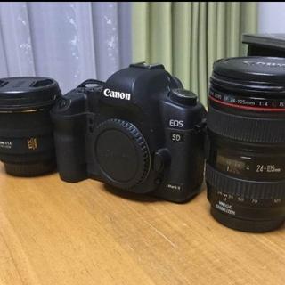 キヤノン(Canon)の5D Mark2  二本レンズセットおまけいろいろ(デジタル一眼)