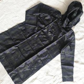 ムジルシリョウヒン(MUJI (無印良品))のブラックウォッチ レインコート (レインコート)