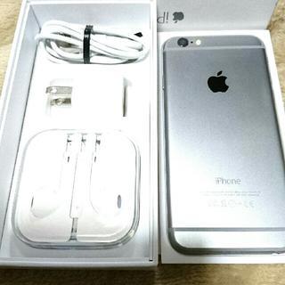 アップル(Apple)のsoftbank iphone6 MG472J/A 16G スペースグレイ(スマートフォン本体)