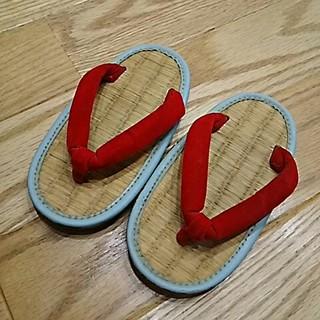 ミサトっ子草履☆サイズ14or15センチ(下駄/草履)