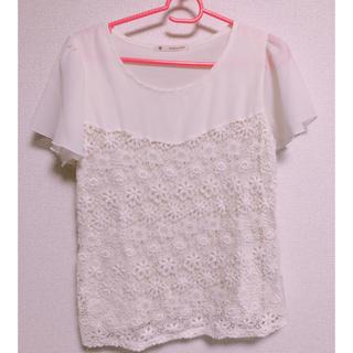 マジェスティックレゴン(MAJESTIC LEGON)のマジェスティックレゴン レースTシャツ(Tシャツ(半袖/袖なし))