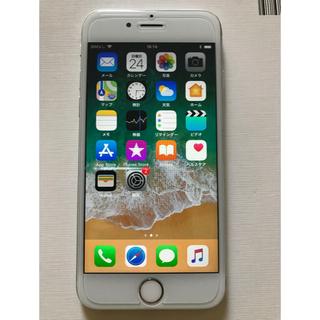 アップル(Apple)のiPhone 6s Silver 64 GB au(スマートフォン本体)